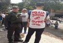 """""""Te quitás esa camiseta o te pelamos"""": lo negativo de la marcha en Medellín"""