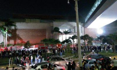 Se incendió nuevamente el centro comercial Buenavista en Barranquilla.